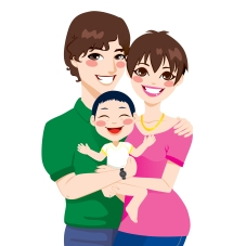 cartoonadoptedfamily